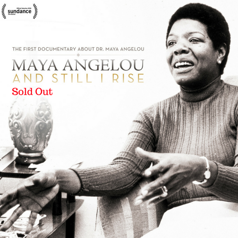 Maya Angelou: And Still I Rise — Page Banner