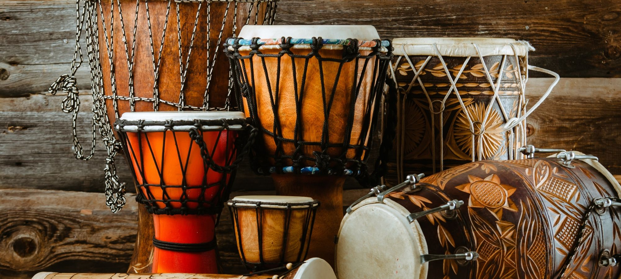 African Drumming Workshops — Page Banner
