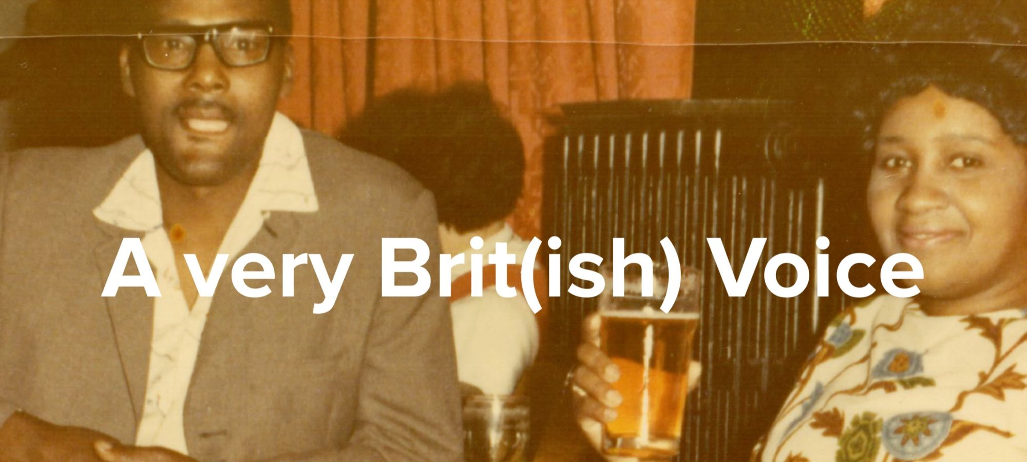 A Very Brit(ish) Voice — Page Banner
