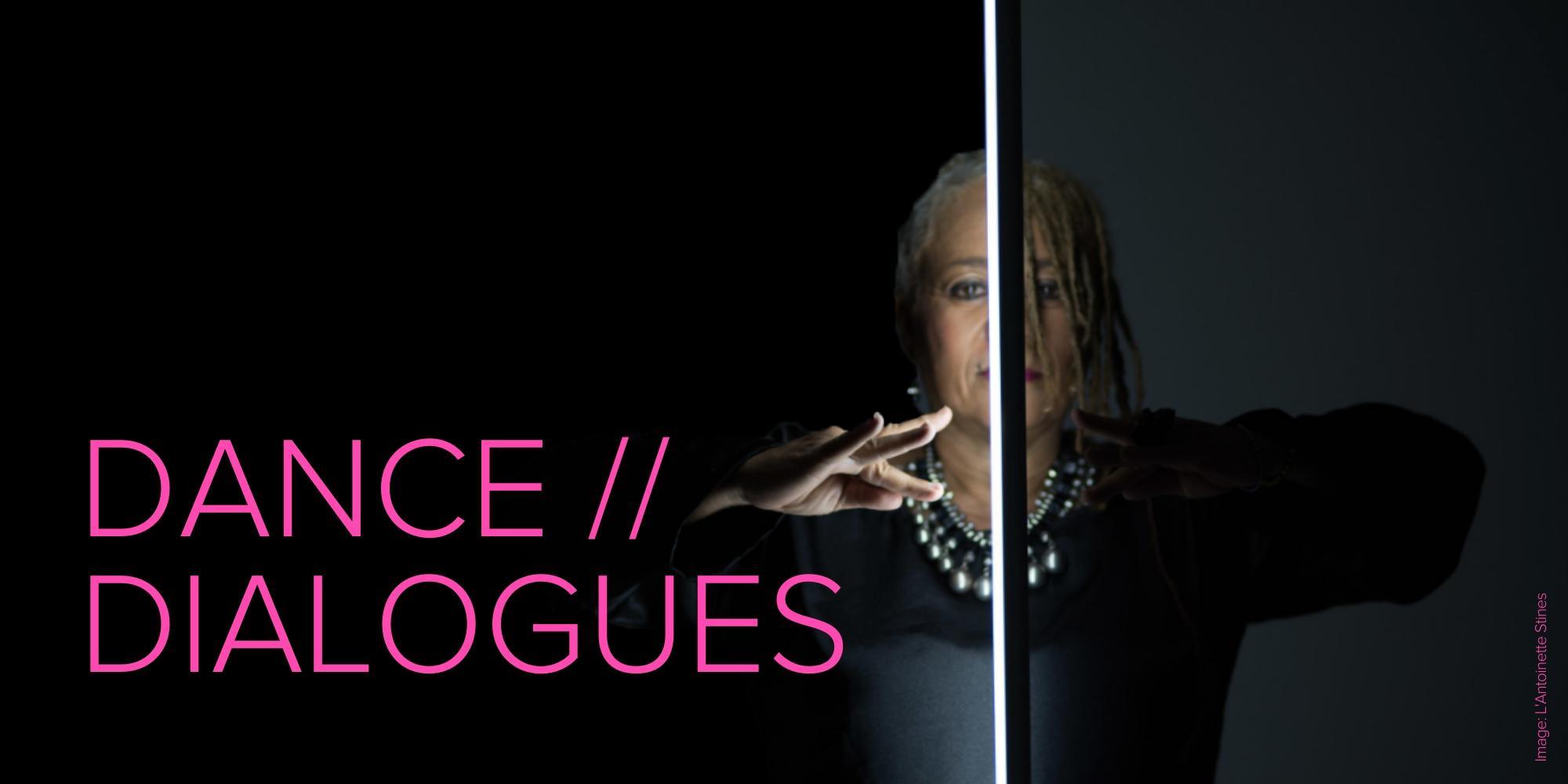 Dance Dialogues: L'Antoinette Stines — Page Banner